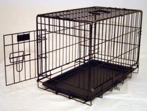 cage métallique en grillage